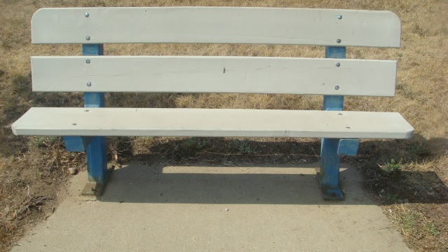 Bench on Edge of Bike Trail