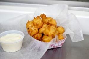 Greasy, Squeaky Cheese Curds