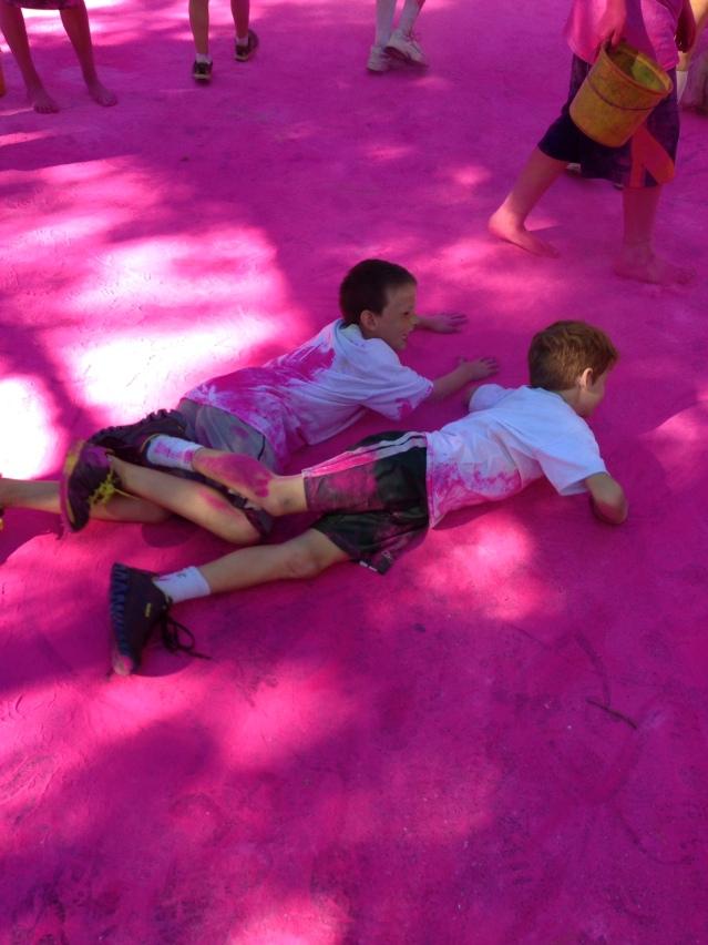 Team Sprinkles rolling in the PINK!