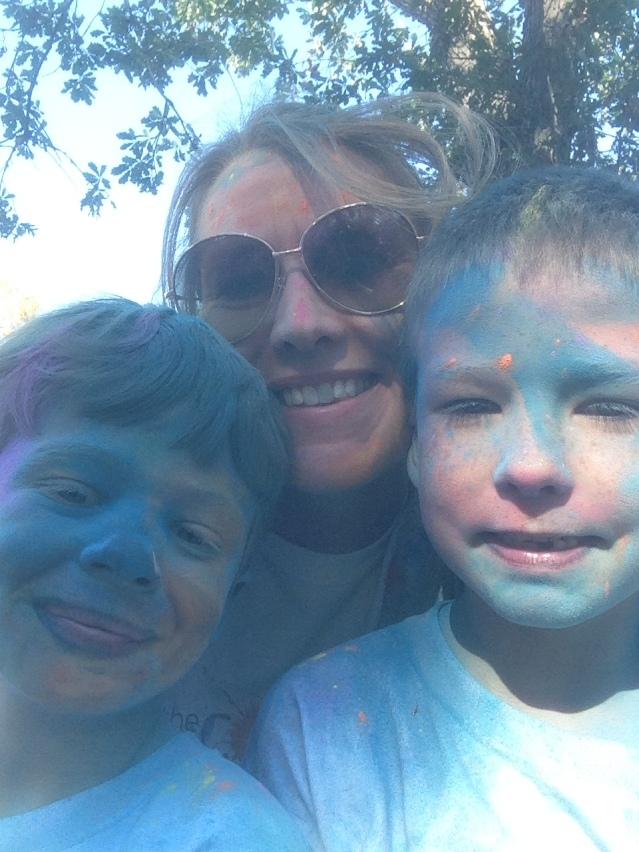 Team Sprinkles in BLUE!