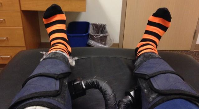 Halloween Orange and Black Stripes