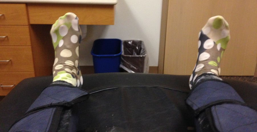 Playful Polka Dot Socks!