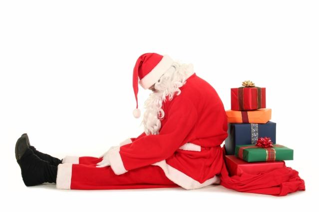 Weary Santa