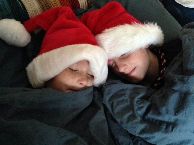 """""""Nestled all snug in their beds"""""""