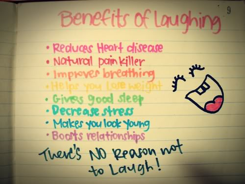 Laugh Every Day to Keep a Heart Attack Away!