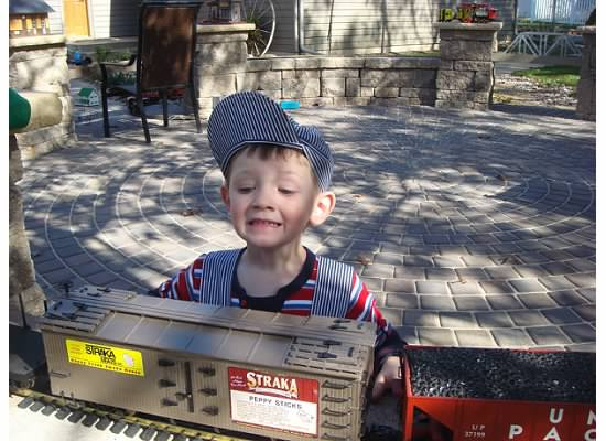 Model Railroading - a dream come true for a little boy!