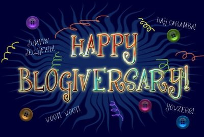 Happy First Blogiversary!